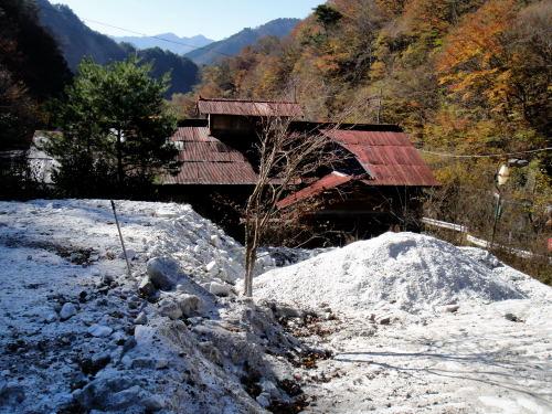 今年のスキー場は雪不足らしい。