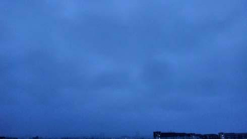 青空ぢゃなくて、青い空。