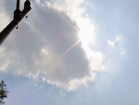 キラキラ太陽