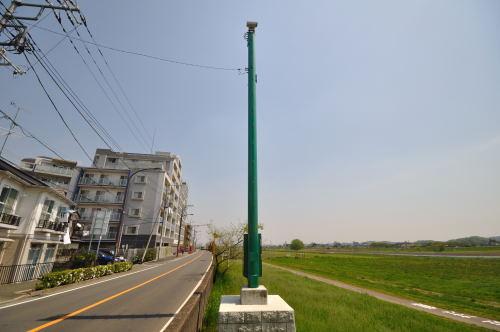 このカメラは多摩川の至る場所で見られます。
